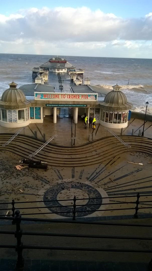 cromer-pier-after-storm