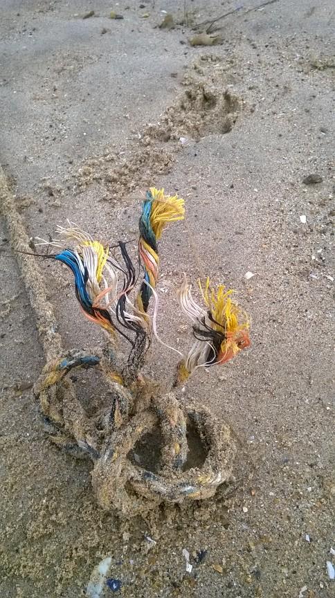 Frayed knot, Old Hunstanton