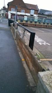 Flood gate, Wells-next-the-sea