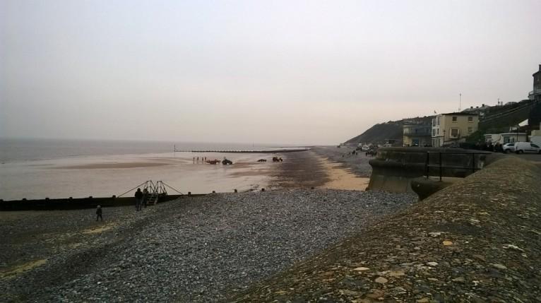 Cromer mini lifeboat ashore 2