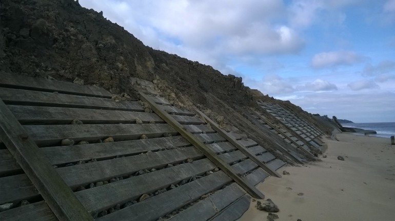 Sea defences Overstrand