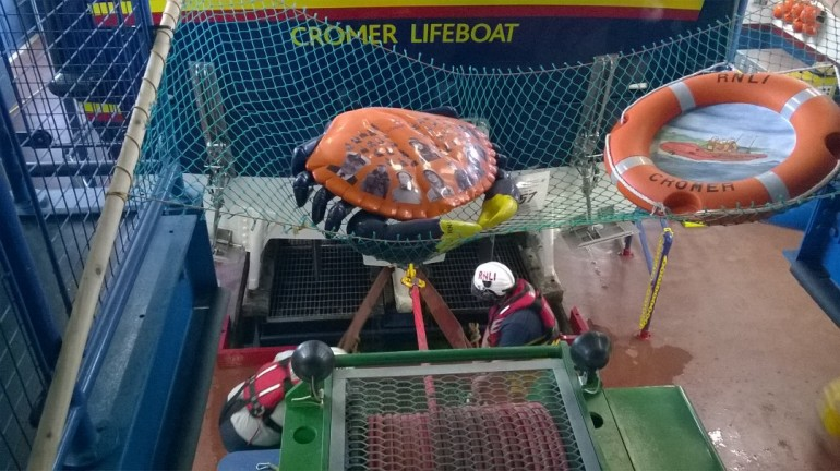 The end of Cromer lifeboat