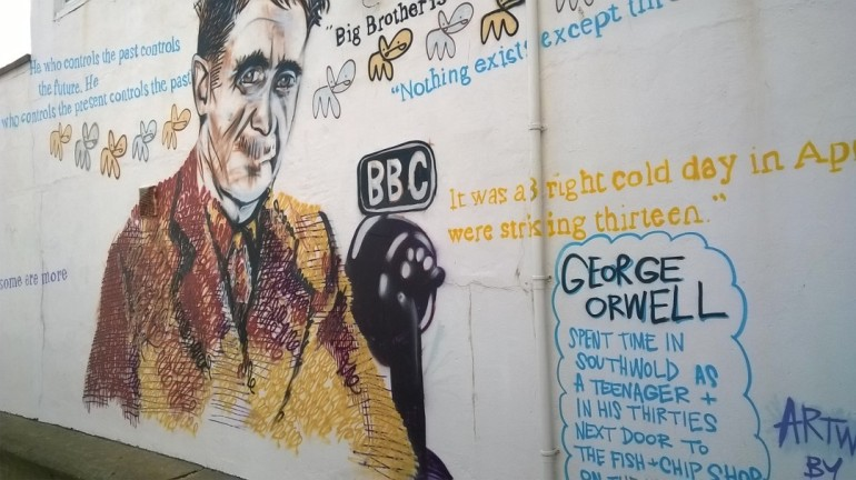 George Orwell Southwold pier