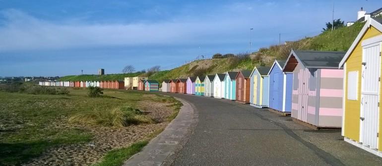 Pakefield beach huts 1
