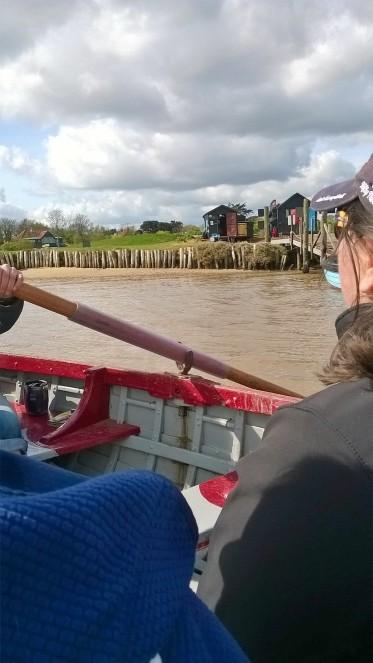 Walberswick ferry 3
