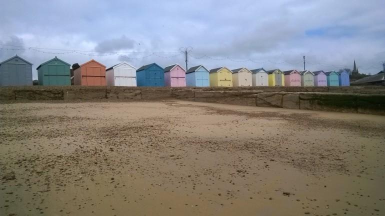 Felixstowe beach huts 2