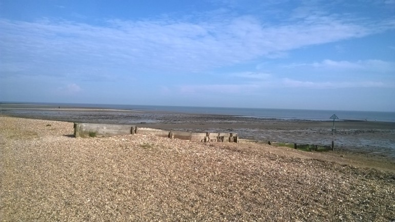 Mersea Island beach 1
