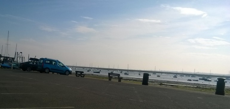 Mersea Island car park