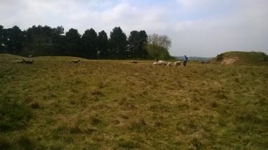Sutton Hoo burial mound 1