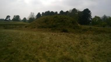 Sutton Hoo highest burial mound
