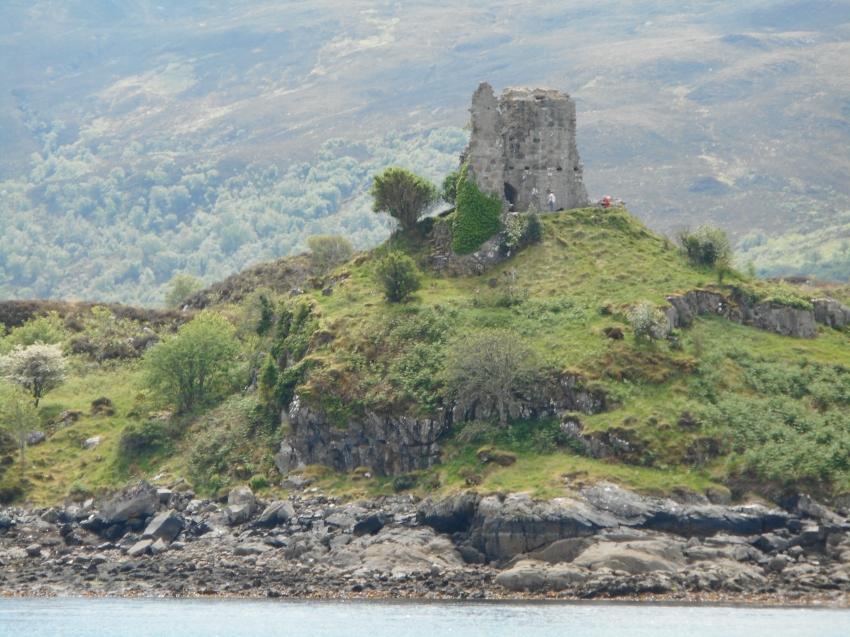 Castle ruin near Skye