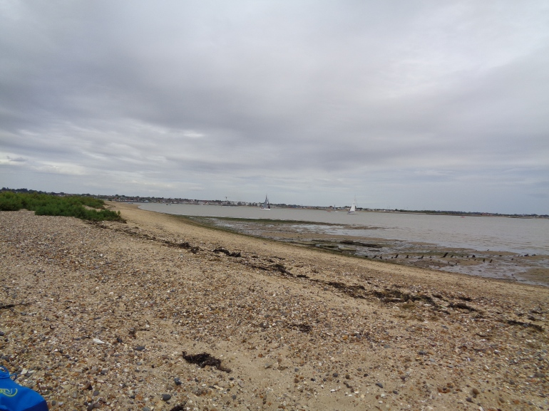 Pyfleet Channel, Mersea Island