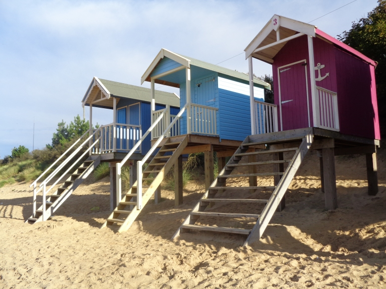 Beach huts, Wells-next-the-sea August 2017